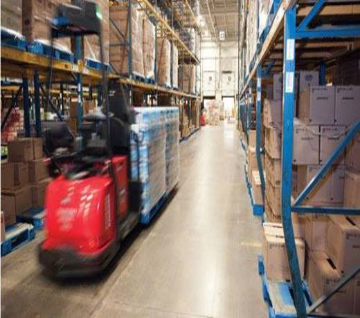 Raymond Forklift Courier Automated Pallet Truck