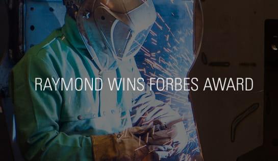 Raymond Wins America's Best Midsize Employer Award by Forbes