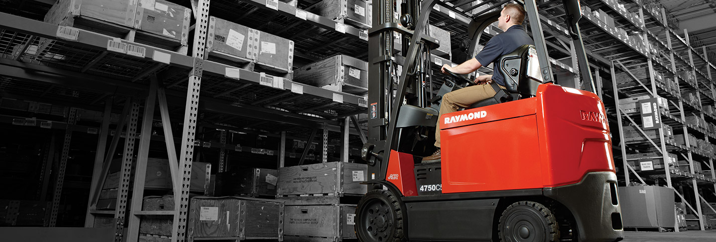 Raymond Forklift Trucks | Fleet and Warehouse Solutions