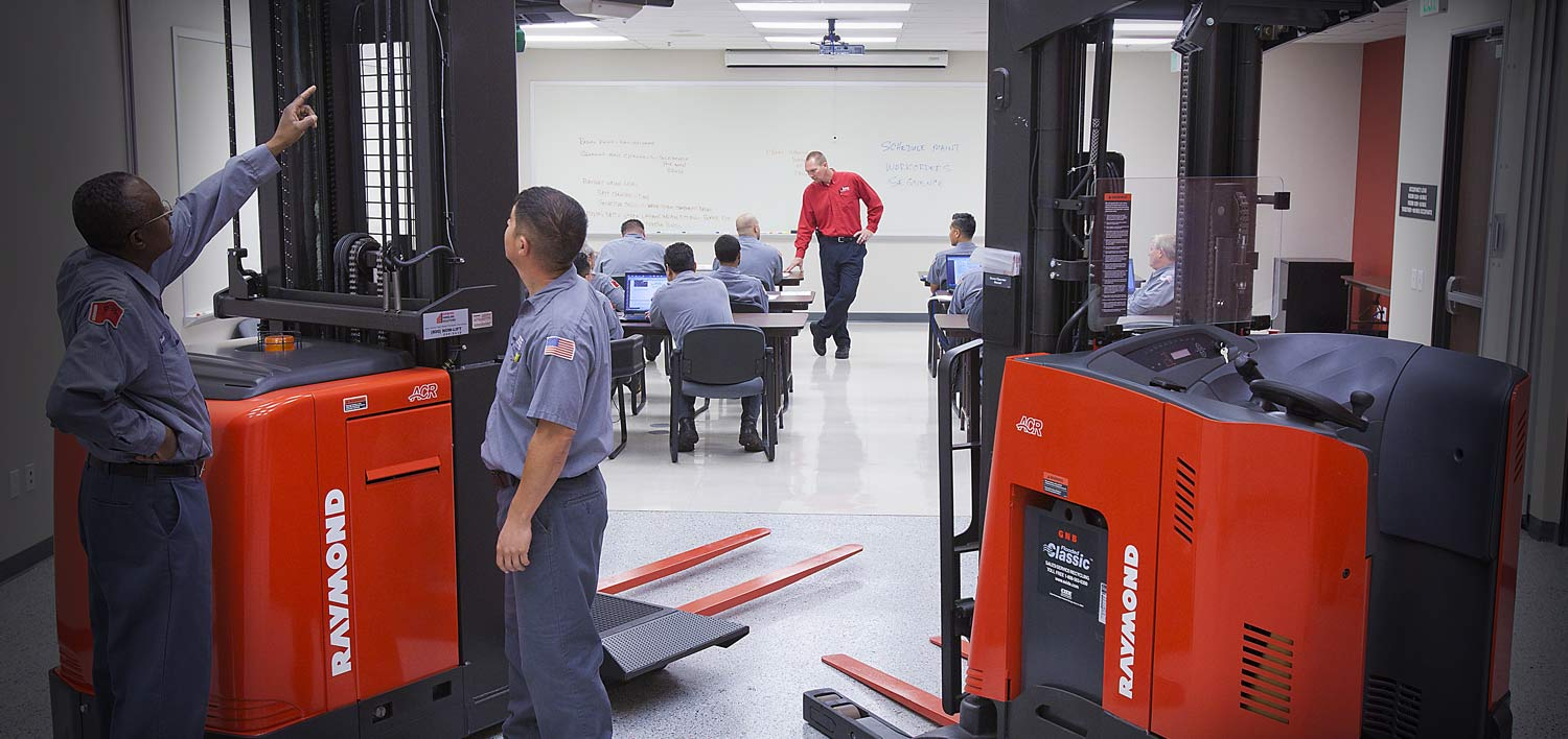 Select location type business with dock or forklift business without - Forklift Training