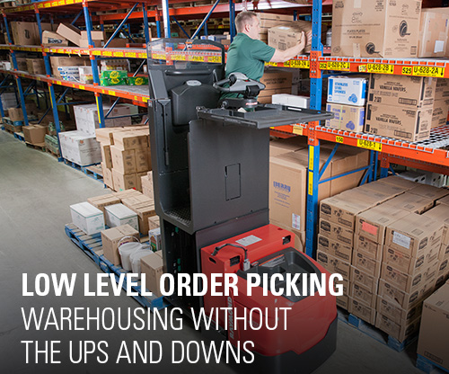 low level order picking, second level order picking