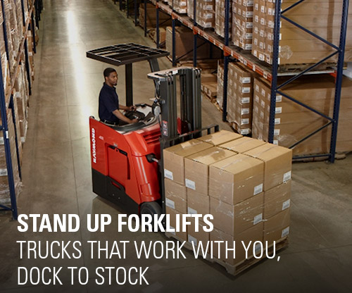 stand up forklift, counterbalanced forklift