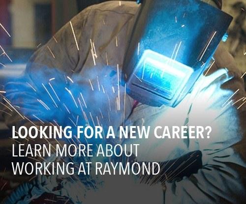 Raymond jobs, welding