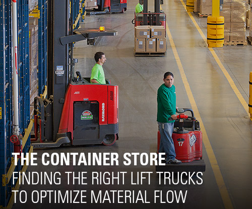 success story, the container store, case study