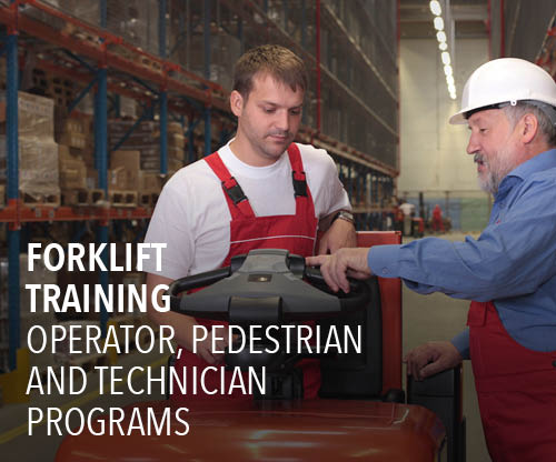forklift training, forklift operator training