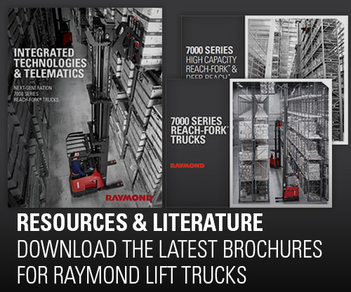 forklift brochure, collateral