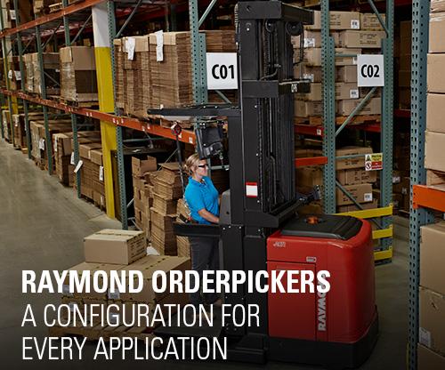 order pickers, raymond orderpickers