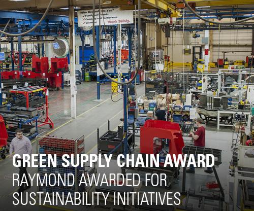 SDCE Green Supply Chain Award, Raymond manufacturing