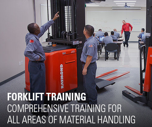 forklift training, warehouse training