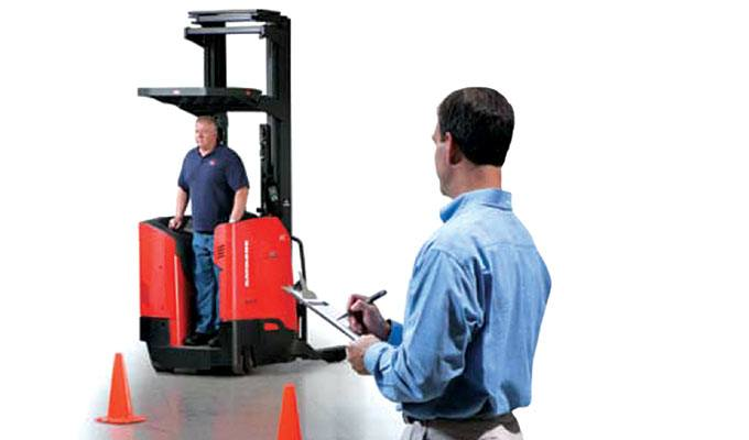Raymond Forklift Operator Training Safety on the Move