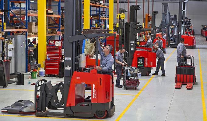 Raymond RENEWED pre-owned used forklift trucks
