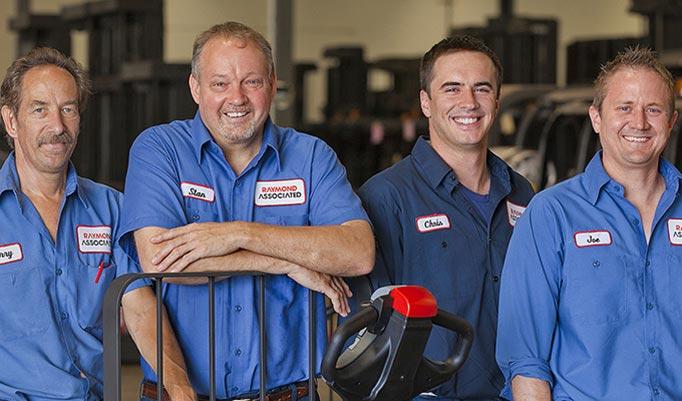Raymond Forklift Service and Lift Truck Maintenance