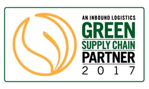 Inbound Logistics 2016 Top Green Supply Chain Partner