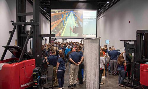 raymond manufacturing day, virtual reality
