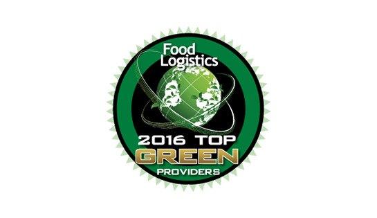 Food Logistics 2016 Top Green Provider