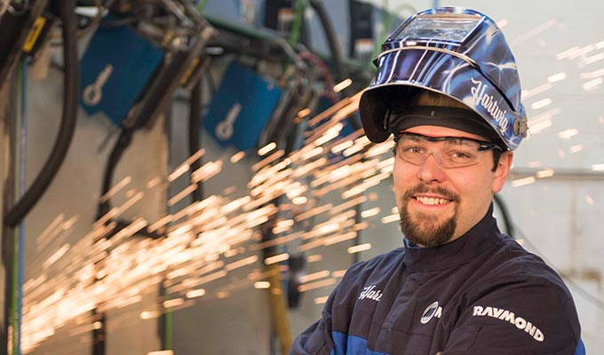Mark Hartwig, The Raymond Corporation, Raymond Welding