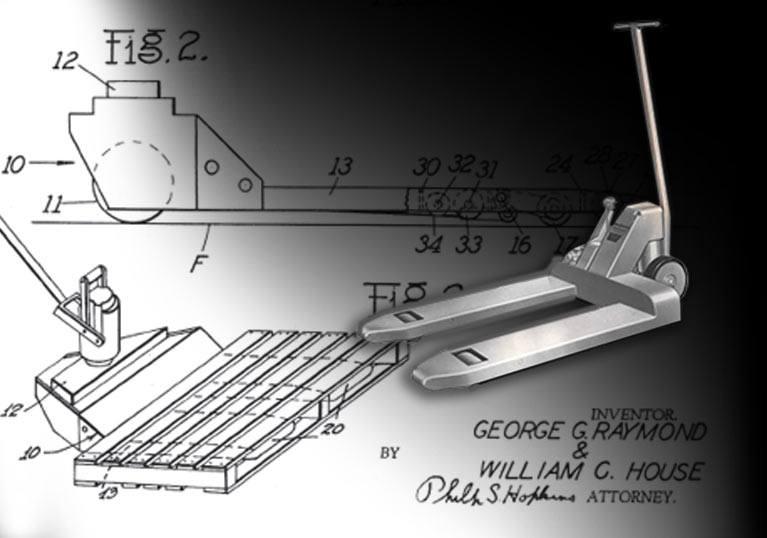 Raymond Corporation Hand Pallet Truck Patent