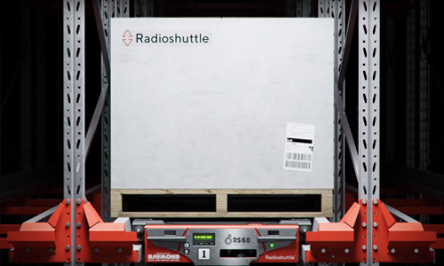 Radioshuttle, automated storage