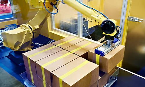 industrial robotics, pallet assembly
