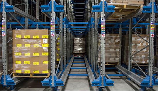 radioshuttle, ASRS, warehouse automation
