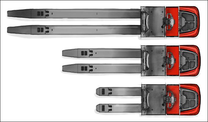 pallet jack extended forks, long forks