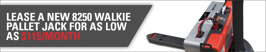 pallet jack lease, lease promotion