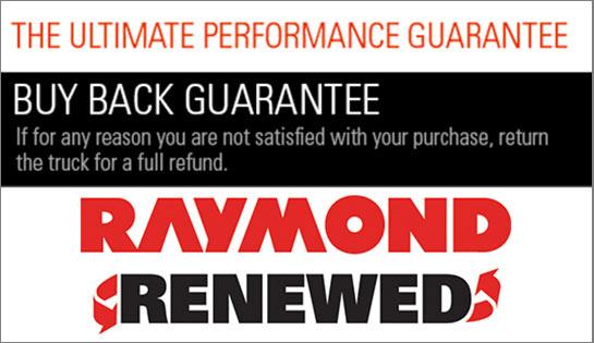 Raymond Renewed Buy back Guarantee