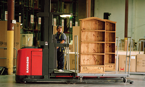 Raymond solutions for Furniture warehouses