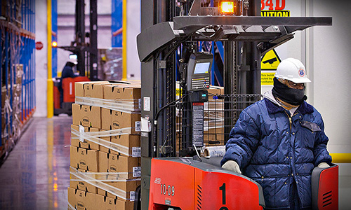Raymond Refrigerated Warehousing Solutions