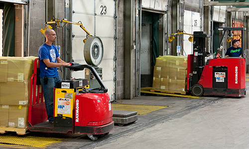 Raymond Material Handling Solutions for Retail