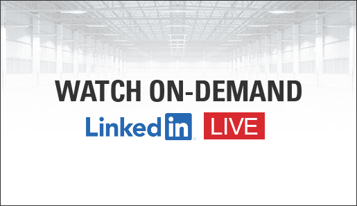 LinkedIn Live Event - Intralogistic Solutions