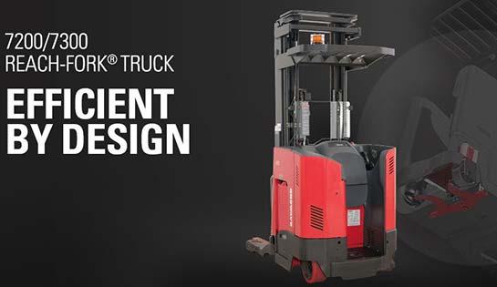 Reach truck, Raymond reach-fork, Raymond reach truck, narrow aisle forklift
