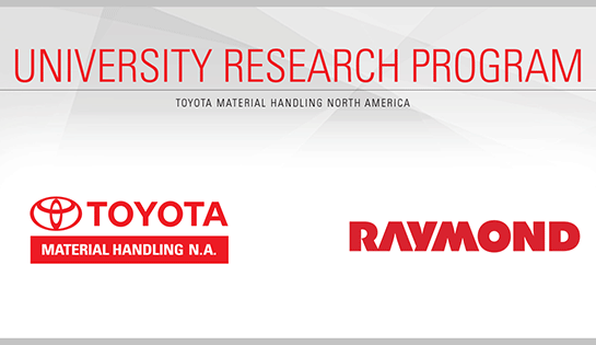 THMNA University Research Program. After A Successful Inaugural Year, Toyota  Material Handling ...