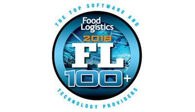 food logistics top 100, technology provider