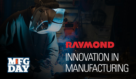 Raymond, Forklift Manufacturer, Manufacturing Day 2016