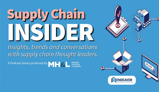 Supply Chain Insider, Mike Field, Raymond CEO guest on podcast