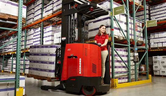 integrated reach truck, reach fork truck