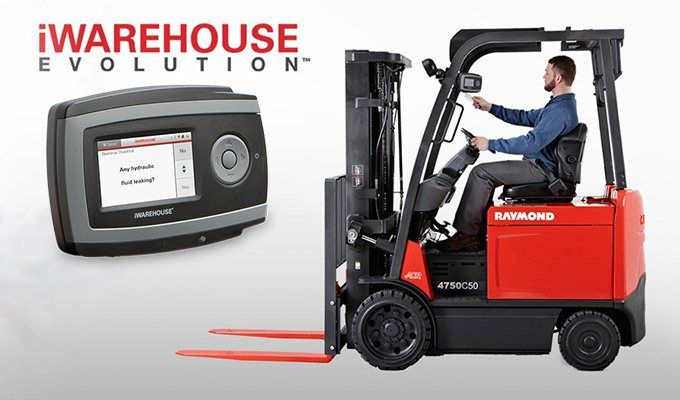 iwarehouse, raymond iwarehouse, fleet management software