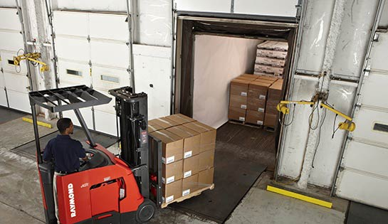 Raymond warehouse dock and door equipment