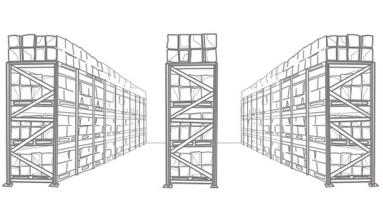 pallet racking, warehouse racking