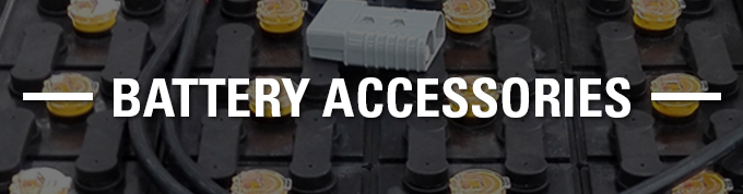 battery accessories, forklift battery accessories, battery parts