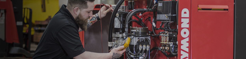 forklift service, forklift maintenance, raymond forklift parts