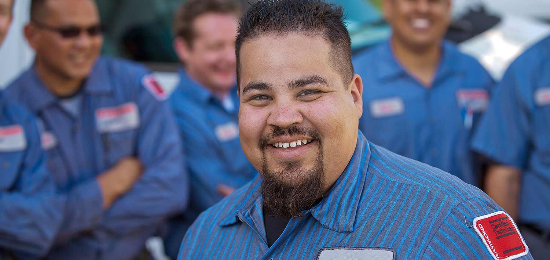 Raymond certified forklift service technicians