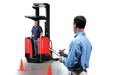 Raymond Forklift Operator Training, Forklift Training