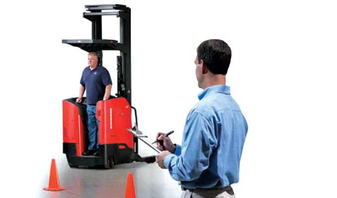 Forklift Operator Training, Raymond Forklift Training