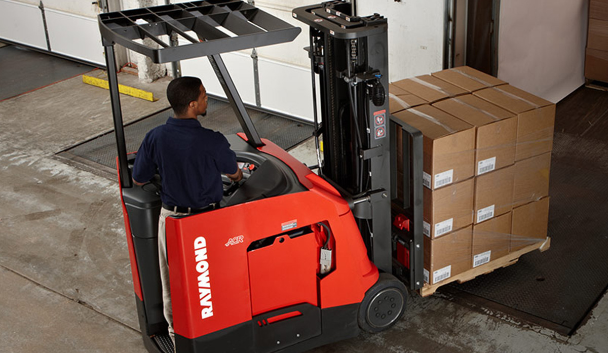 Stand Up Forklifts - Sit Down Forklifts | Raymond