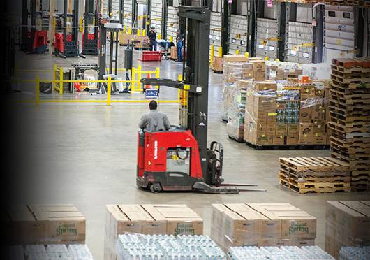 Associated Grocers of New England Utilizes Raymond Material Handling Solutions