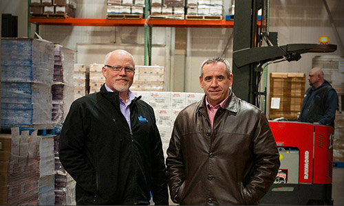 Byrne Dairy Case Study, Raymond, Pengate, Cold Storage