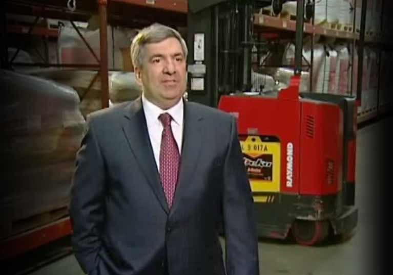 Raymond forklifts, east coast warehouse company