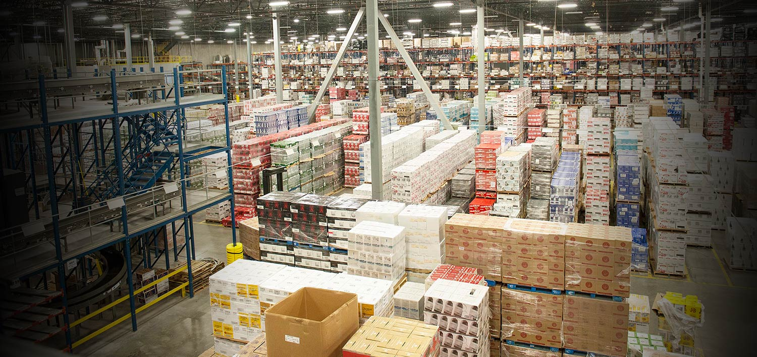 Raymond, warehouse optimization, Empire merchants, warehouse design